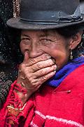 Market day<br /> Chimborazo Province<br /> Andes<br /> ECUADOR, South America