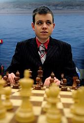 17-01-2011 SCHAKEN: TATA STEEL CHESS TOURNAMENT: WIJK AAN ZEE  <br /> David Navara CZE<br /> ©2010-WWW.FOTOHOOGENDOORN.NL