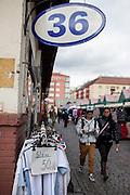 Der Markt in Holesovice.