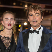 NLD/Amsterdam/20171012 - Televizier-Ring Gala 2017, Derk Bolt en dochter Isabelle