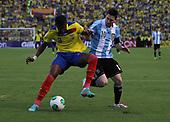 Ecuador vs Argentina in Quito