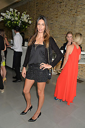 ZARA SIMON at a summer drinks party hosted by Bec Astley Clarke at the Serpentine Sackler Gallery, Hyde Park, London on 17th June 2014.