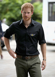 Prince Harry attends the launch of the UK's Invictus Games team at Plaisterers Hall.