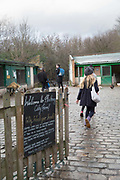 Hackney City Farm in East London on 9th January 2016 in East London, United Kingdom