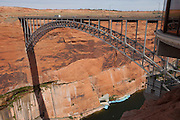 Glen Canyon Dam Bridge, Lake Powel, UT