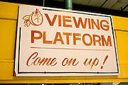 Sign at fresh in Orange Blossom Groves produce shop.  Seminole Tampa Bay Area Florida USA