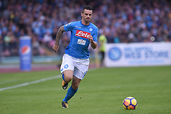 October 29, 2017 - Naples, Naples, Italy - Christian Maggio of SSC Napoli during the Serie A TIM match between SSC Napoli and US Sassuolo at Stadio San Paolo Naples Italy on 29 October 2017. (Credit Image: © Franco Romano/NurPhoto via ZUMA Press)