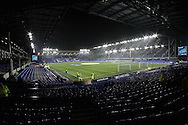 a General view inside the stadium before k/o. Capital one cup semi final 1st leg match, Everton v Manchester city at Goodison Park in Liverpool on Wednesday 6th January 2016.<br /> pic by Chris Stading, Andrew Orchard sports photography.