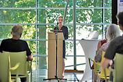 Nederland, Nijmegen, 26-6-2020  In museum het Valkhof werd vandaag een klein deel van een belangrijke archeologische vondst getoond. Het gaat om een Keltisch wagengraf, gevonden in de gemeente Heumen met veel metalen objecten . Een deel daarvan is nog in restauratie en conservatie . De resten zijn ontdekt door amateurbodemonderzoekers die met metaal detectoren de grond aftasten. Ze waren daarna illegaal opgegraven en slecht behandeld. Toch zijn ze opgedoken en overgedragen aan het Rijk . Marenne Zandstra van de archeologische afdeling van het museum .Foto: Flip Franssen