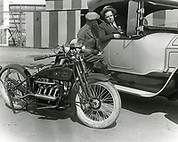 1921 Fatty Arbuckle at Chaplin Airdrome at Wilshire & Fairfax Blvds.