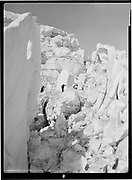 9969-0980View of a broken area in the icefalls of Eliot glacier. September 18, 1932.