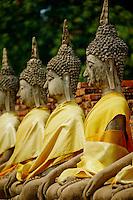 Thailande, province de Phra Nakhon Si Ayutthaya, Ayutthaya, Parc Historique, classe Patrimoine mondial de l'UNESCO, Wat Yai Chai Mongkhon // Thailand, Ayutthaya, Ayutthaya Historical Park, World Heritage by UNESCO, Wat Yai Chai Mongkhon