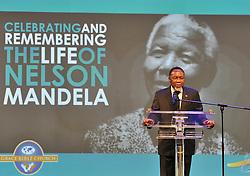 SOWETO, Dec. 8, 2013  South Africa's Deputy President Kgalema Motlanthe addresses a church service commemorating the life of Nelson Mandela at Grace Bible Church in Soweto, Dec. 8, 2013. (Xinhua/GCIS) (Credit Image: © Kopano Tlape/Xinhua/ZUMAPRESS.com)