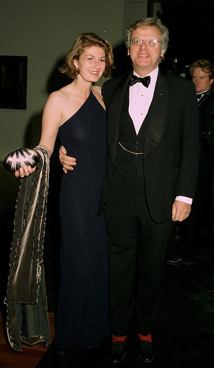 MR MICHAEL GRADE and MISS FRANCESCA LEAHY at a dinner in London on 1st July 1997.LZW 58