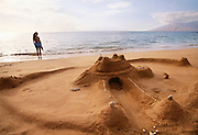 Sandcastle, Wailea Beach, Maui, Hawaii