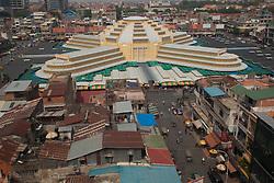 Stylish Art Deco Central Market (Psar Thmei) in Phnom Penh