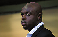 Photo: Paul Thomas.<br /> Oldham Athletic v Swindon Town. Coca Cola League 1.<br /> 10/12/2005.<br /> <br /> Swindon manager Iffy Onuora.