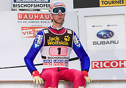 Martin Koch (AUT) during Trial round of the FIS Ski Jumping World Cup event of the 58th Four Hills ski jumping tournament, on January 6, 2010 in Bischofshofen, Austria. (Photo by Vid Ponikvar / Sportida)