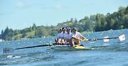 Hamilton, NEW ZEALAND. GBR M4-. Bow Alex PARTRIDGE, Rick EGINGTON, Alex GREGORY and Matt LANDGRIDGE, move away from the start in the Men's Four.  2010 World Rowing Championship on Lake Karapiro Sunday  31/10/2010. [Mandatory Credit Peter Spurrier:Intersport Images].