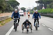 Foto Massimo Paolone/LaPresse <br /> 17 ottobre 2021 Roma, Italia <br /> sport <br /> Roma Ostia Half Marathon 2021<br /> Nella foto: Andrea Pusateri durante la gara  <br /> <br /> Photo Massimo Paolone/LaPresse <br /> October 17, 2021 Rome, Italy <br /> sport <br /> Roma Ostia Half Marathon 2021 <br /> In the pic: Andrea Pusateri during the race