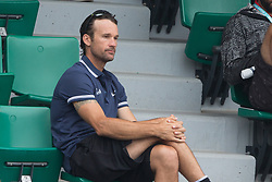 Carlos Moya in stands during French Tennis Open at Roland-Garros arena on June 05, 2018 in Paris, France. Photo by Nasser Berzane/ABACAPRESS.COM