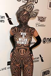 February 24, 2019 - West Hollywood, CA, USA - LOS ANGELES - FEB 24:  Megan Pormer at the Elton John Oscar Viewing Party on the West Hollywood Park on February 24, 2019 in West Hollywood, CA (Credit Image: © Kay Blake/ZUMA Wire)