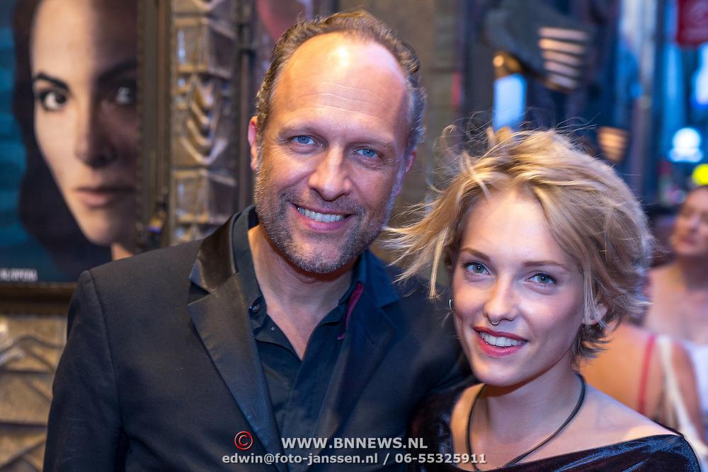 NLD/Amsterdam/20180905 - Première<br /> De Inspirator, hugo Metsers III en partner July Janssen