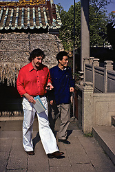 John Catalini & Chinese Man