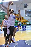 Sassari 14 Agosto 2012 - Qualificazioni Eurobasket 2013 -Allenamento<br /> Nella Foto : LUCA VITALI<br /> Foto Ciamillo