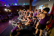 Bayswater, London, General View of teams competing during the Snowdon Rowing Challenge, on Friday   05/03/2010  at the Porchester Hall London GREAT BRITAIN.  [Mandatory Credit. Peter Spurrier/Intersport Images]
