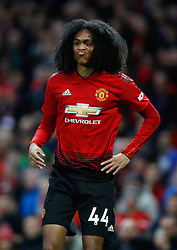 Manchester United's Tahith Chong during the Premier League match at Old Trafford, Manchester.