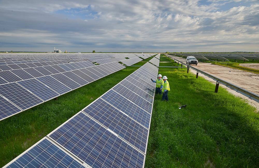 Duke Energy Solar Farm, Elizabeth City, NC