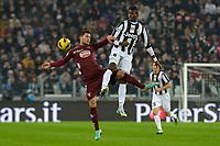 01/12/2012 Torino.Juventus Stadium.Football Calcio 2012 / 2013 .Campionato di Calcio Serie A.Juventus vs Torino.Foto Insidefoto / Filippo Alfero.Nella foto: D'Ambrosio e Pogba