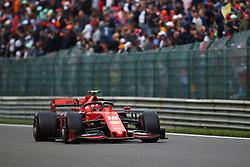 SPA-FRANCORCHAMPS, Sept. 2, 2019  Charles Leclerc of Ferrari drives during the Formula 1 Belgian Grand Prix at Spa-Francorchamps Circuit, Belgium, Sept. 1, 2019. (Credit Image: © Zheng Huansong/Xinhua via ZUMA Wire)