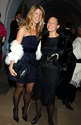 Left to right, NATHALIE LIVINGSTON and LORRAINE SHAW at a dinner attended by the Conservative leader Michael Howard and David Davis and David Cameron held at the Banqueting Hall, Whitehall, London on 29th November 2005.<br /><br />NON EXCLUSIVE - WORLD RIGHTS
