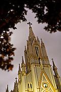 Belo Horizonte_MG, Brasil...Igreja de Lourdes em Belo Horizonte, Minas Gerais...The Lourdes church in Belo Horizonte, Minas Gerais...Foto: BRUNO MAGALHAES / NITRO