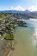 Kaneohe Bay, Kaneohe, Windward, Oahu, Hawaii