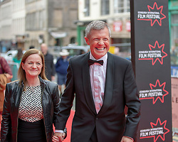 The Edinburgh International Film Festival Opening Night Premiere features the film Puzzle. Directed by Mark Turtletaub it stars Kelly Macdonald and Irrfan Khan. <br /> <br /> Pictured: Scottish Liberal leader Willie Rennie