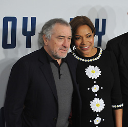NEW YORK, NY - DECEMBER 13: Robert De Niro, Grace Hightower, James Packer attends the premiere of 'Joy' at Ziegfeld Theater on December 13, 2015 in New York City....People:  Robert De Niro, Grace Hightower. (Credit Image: © SMG via ZUMA Wire)
