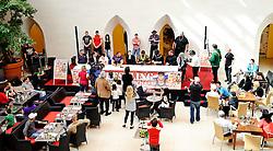 08.04.2011, LCS, Leoben, AUT, PK zur Catch Wrestling Weltmeisterschaft, im Bild die Teilnehmer an der PK, EXPA Pictures © 2011, PhotoCredit: EXPA/ S. Zangrando