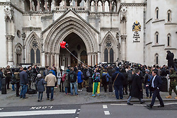 London - Alleged computer hacker Lauri Love outside the Royal Courts of Justice in London after he successfully challenged a ruling that he can be extradited to the US, following allegations that he hacked United States government websites. February 05 2018.