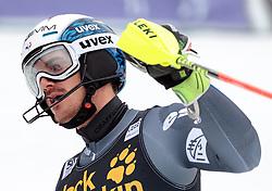 05.03.2017, Podkoren, Kranjska Gora, SLO, FIS Weltcup Ski Alpin, Kranjska Gora, Slalom, Herren, 2. Lauf, im Bild Patrick Thaler (ITA) // Patrick Thaler of Italy reacts after his 2nd run of men's Slalom of FIS ski alpine world cup at the Podkoren in Kranjska Gora, Slovenia on 2017/03/05. EXPA Pictures © 2017, PhotoCredit: EXPA/ Johann Groder
