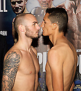 Matchroom Weigh In 300115