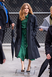 Amy Adams is seen at 'Jimmy Kimmel Live' in Los Angeles, California. NON-EXCLUSIVE February 13, 2019. 13 Feb 2019 Pictured: Amy Adams. Photo credit: RB/Bauergriffin.com / MEGA TheMegaAgency.com +1 888 505 6342