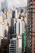 Views of Sheung Wan district, Hong Kong