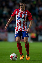 October 25, 2017 - Elche, Elche, Spain - Toni Moya of Atletico de Madrid with the ball during the Spanish Copa del Rey (King's Cup) round of 32 first leg football match between.Elche CF and Atletico de Madrid at the Martinez Valero stadium in Elche (Credit Image: © Sergio Lopez/Pacific Press via ZUMA Wire)