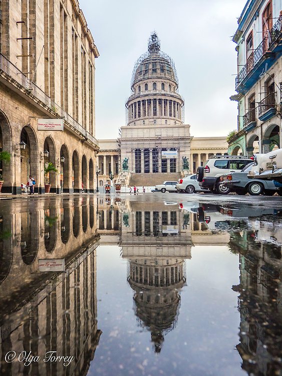 The National Capitol Building (Capitolio Nacional de La Habana) in Havana, Cuba.