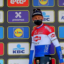 04-04-2021: Wielrennen: Ronde van Vlaanderen (Mannen): Oudenaarde <br />Mathieu van der Poel