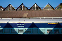 Inde, Bengale Occidental, Calcutta (Kolkata), la gare ferroviere de Howrah // India, West Bengal, Kolkata, Calcutta, Howrah railway station