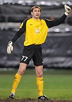 Fotball<br /> 18.03.2010<br /> Foto: Witters/Digitalsport<br /> NORWAY ONLY<br /> <br /> Torwart Sergei Ryzhikov Kasan<br /> Europa League Achtelfinale VFL Wolfsburg - Rubin Kazan 2:1 n.V.